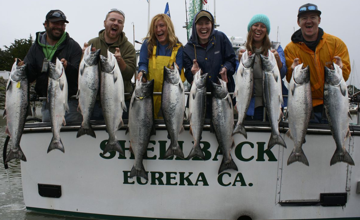Eureka fishing for Eureka ca fishing